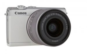 Canon M100 - mirrorless camera